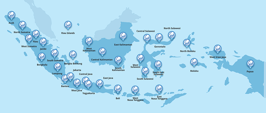 Sinde Budi Sentosa - Pharmacy Product Distribution Map
